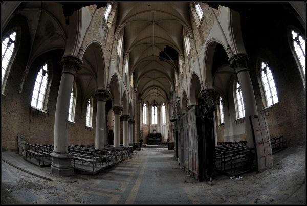 cattedrale abbandonata