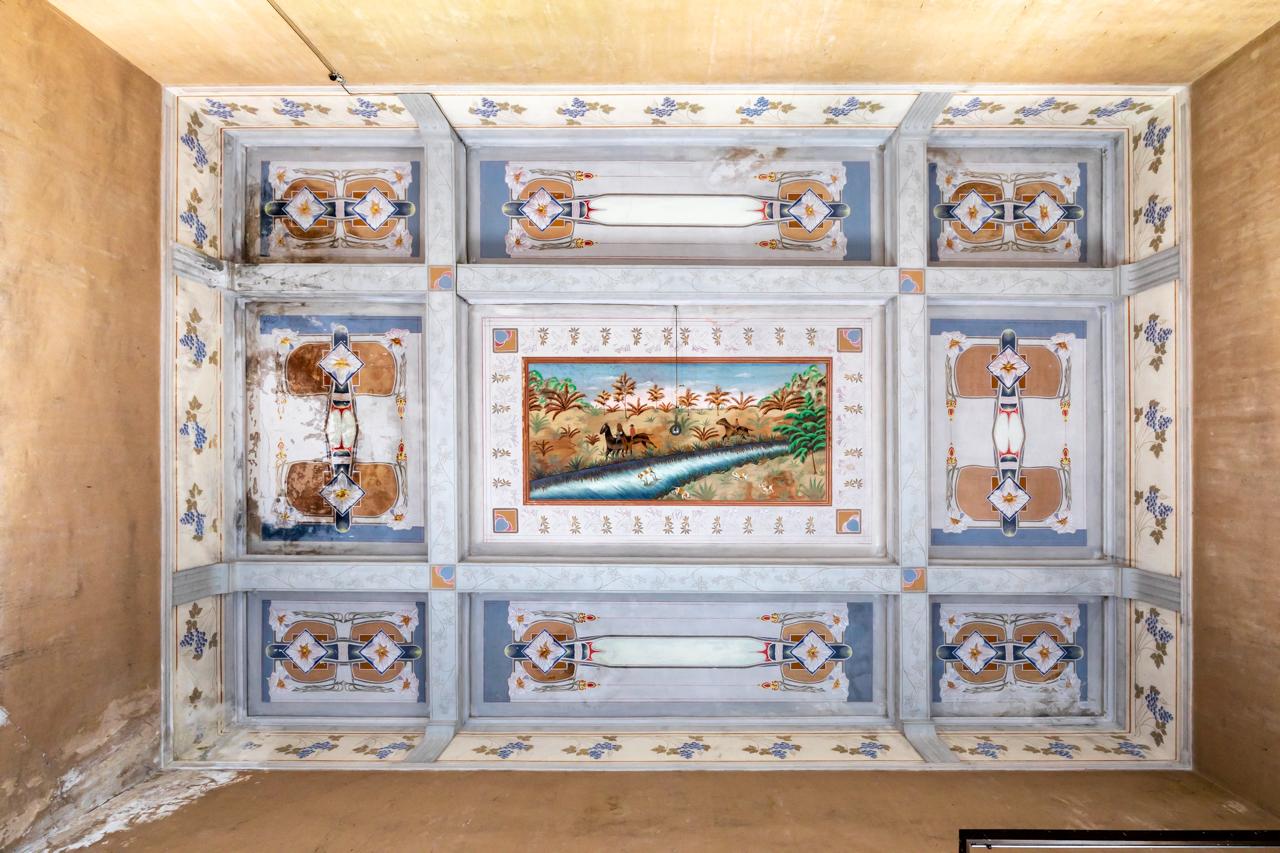 Villa Cielo divino : villa padronale abbandonata