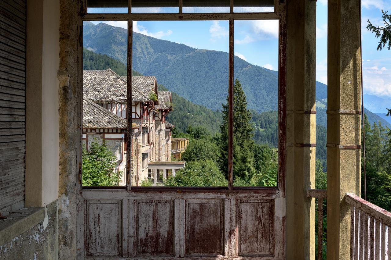 Il sanatorio nei monti
