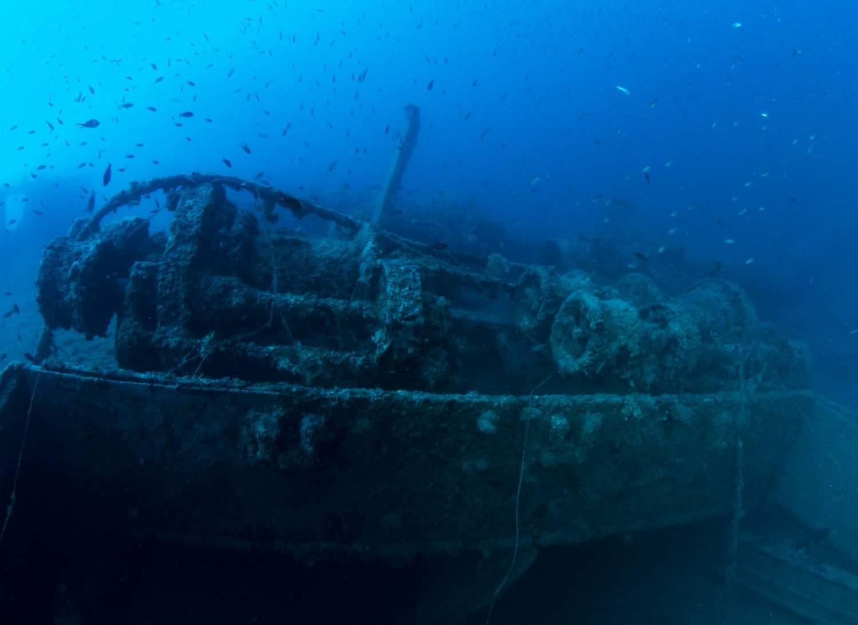 Pasubio, an underwater museum