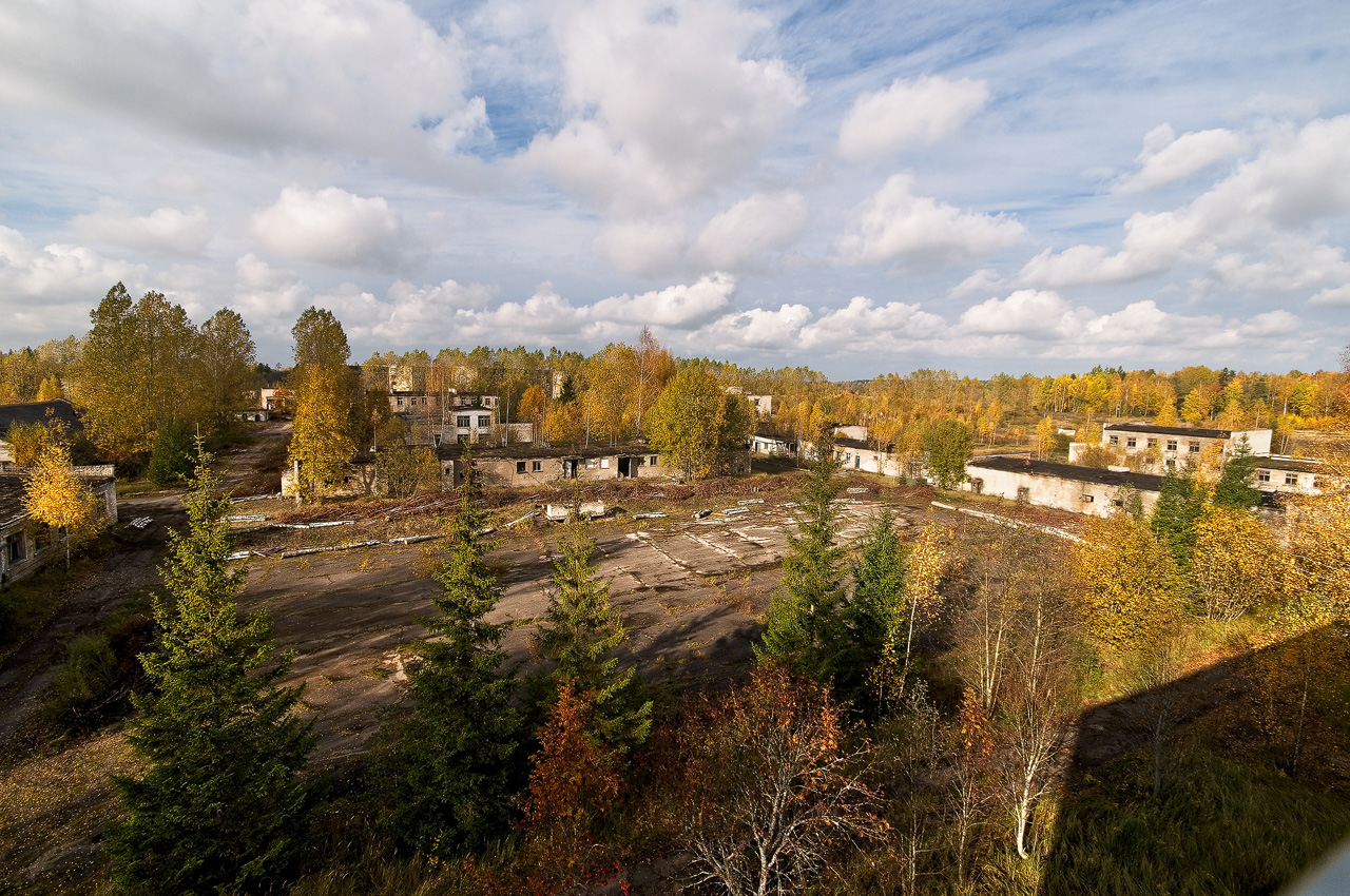 Skrunda-1, the ghost town in the woods