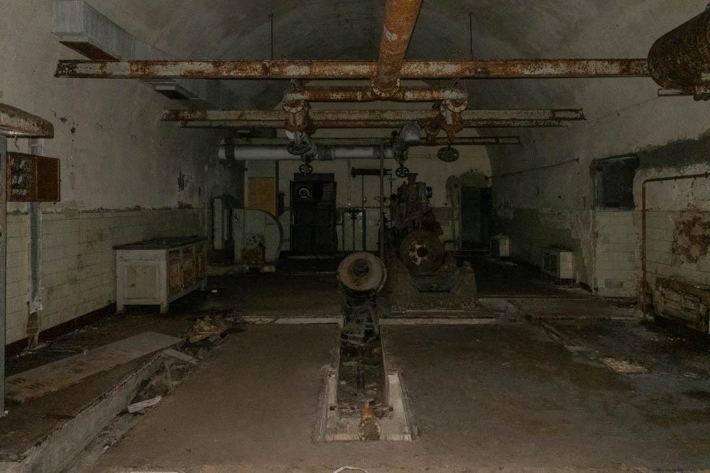 Il bunker della Regia Marina