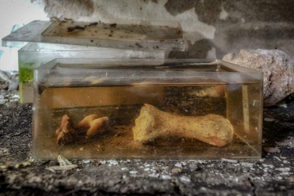 time capsule in a small garage - abandoned castle - urbex france