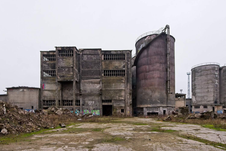 Chemiewerk Rüdersdorf: l'imponente ex fabbrica chimica ora set di Hollywood